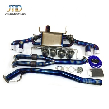 High Performance Titanium Exhaust System For Nissan GTR R35