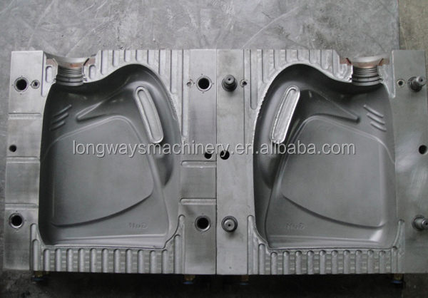1L 2L 3L 5L HDPE bottle blowing mould, plastic extrusion blow mold, 800ml bottle mould.