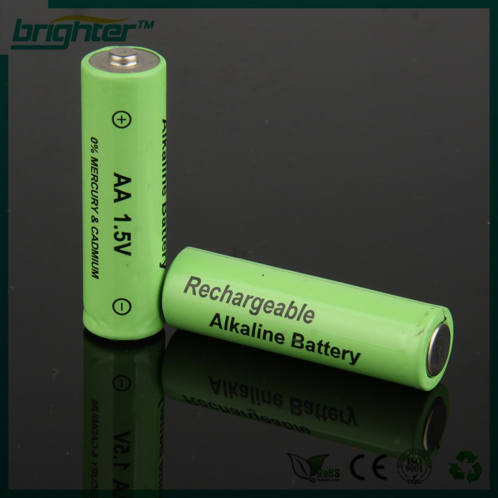 BRIGHTER 1.5v aa rechargeable alkaline <strong>battery</strong> popular 2015