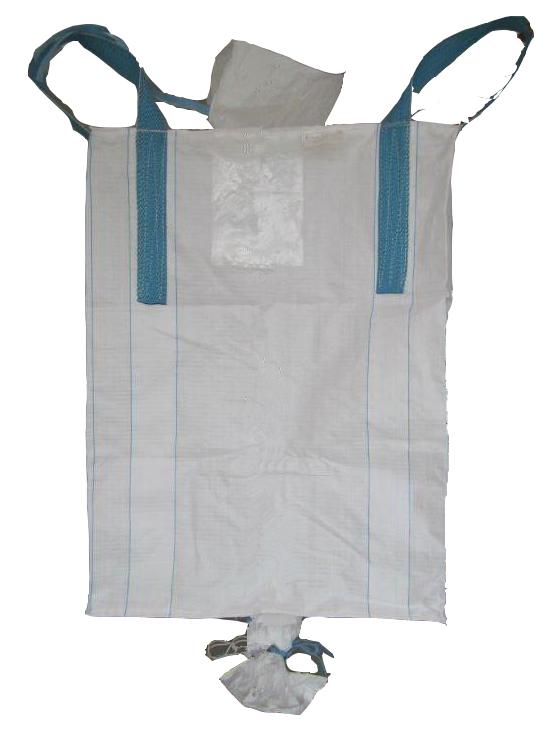 Pp White U Panel Jumbo Bag With Sleeve Lifting Loops Bulk Fill Spout Open 1000kg 3000kg Eu Standard 500kg