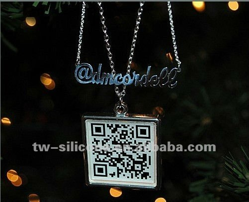 Fashion Jewelry Silver Color Pendant Necklace