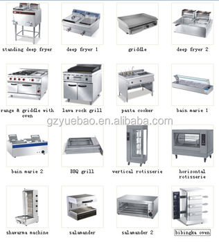 Commercial used catering kitchen equipment fast food for I kitchen equipment