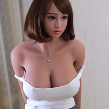 158cm 2017 latest black skin silicone sex doll with short hair for male