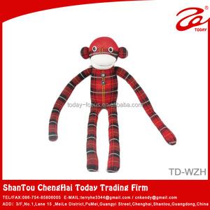 2014 Wholesale Sock Monkeycustom Plush Toy