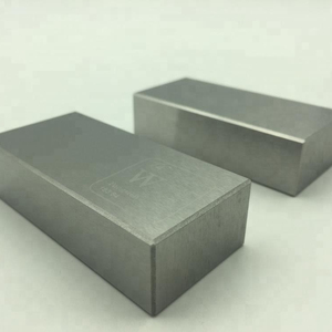 99.95% Metal alloy 1kg tungsten carbide cube price per kg