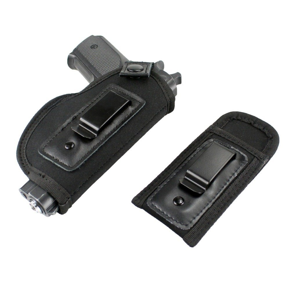 Holster Universal For Concealed Carry [ Inside The Waistband ] [ Fits all firearms S&W M&P ] [ Shield 9/40 1911 ] [ Taurus PT111 G2 ] [ Sig Sauer Glock 19 17 27 43 ] (for Right-Handed)