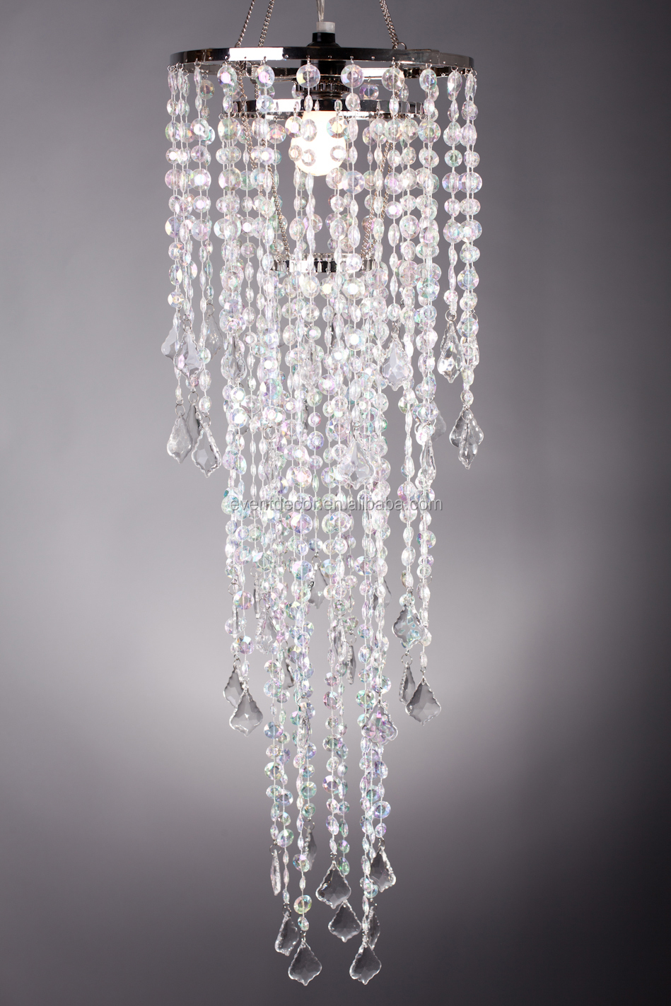 Cheap Crystal Chandelier Wedding Centerpieces For