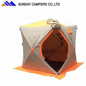 34d3c21f957660 Camping Ausrüstung Pop Up Schnell Öffnen Eiswürfel Winter Angeln ...