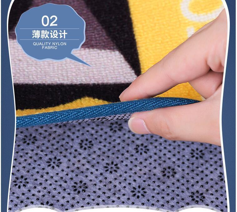 HOT Dog Print Carpet Tapete Strip Floor Mat Absorbent Door Non-slip Mats  Bedside Blanket For Kitchen Bathroom Room Alfombras - us310 38d1ed62f91