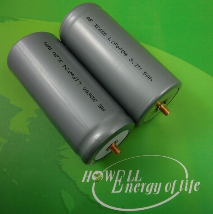 3.2 v 5ah Lifepo4 Cellula di Batteria 32650