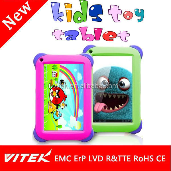 Cute 7 inch Cheap Retail Kids <strong>Tablet</strong>