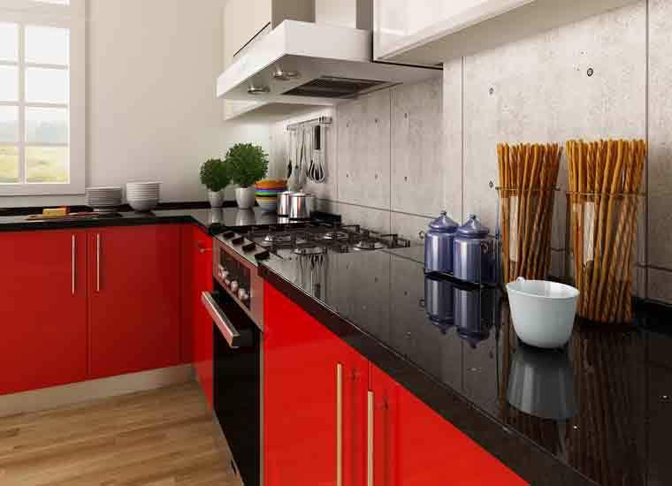 Kenya Project Modern Design Round Laminate Kitchen ...