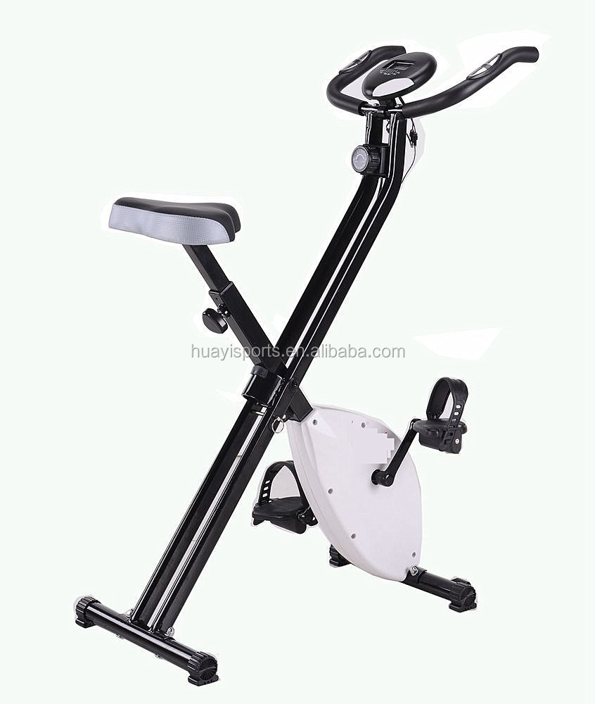 Gym Equipment Magnetic Folding Body Strong Exercise Bike With Pusle