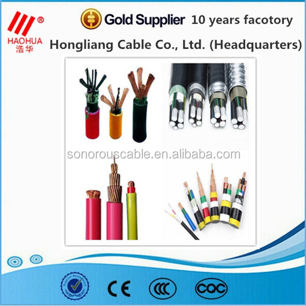 High quality low voltage ZERO HALOGEN XLPE HOOK-UP CABLE WIRE