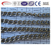 stainless steel twisted link chain