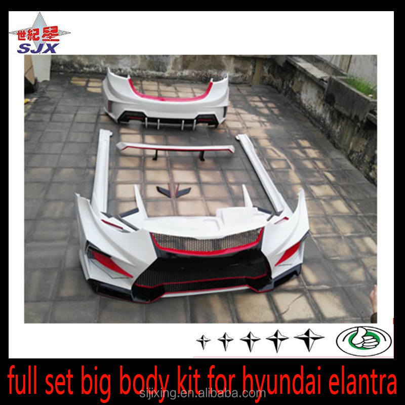 suitable for hyundai elantra bumper body kits buy for hyundai