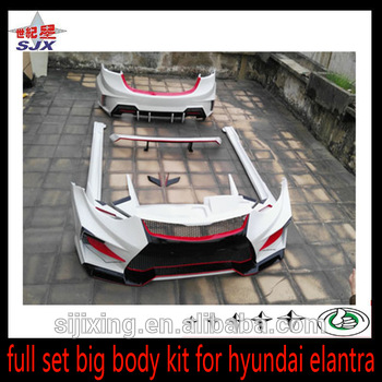 Suitable For Hyundai Elantra Bumper Body Kits Buy For