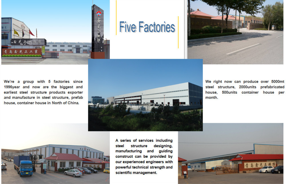 Prefab Construction Design Steel Structure Modern Warehouse