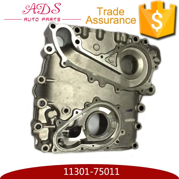 Car parts engine aluminum timing cover for Toyota Hiace OEM:11301-75011