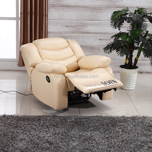 Home theater speaker recliner with cup holder with fridge reclining chair with stool SC-52-2