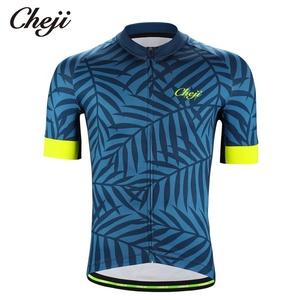 54e902fa6 CHEJI New Design Short Sleeves Men s Cycling Clothes Summer Quick Dry Pro  Team Custom Bike Jersey