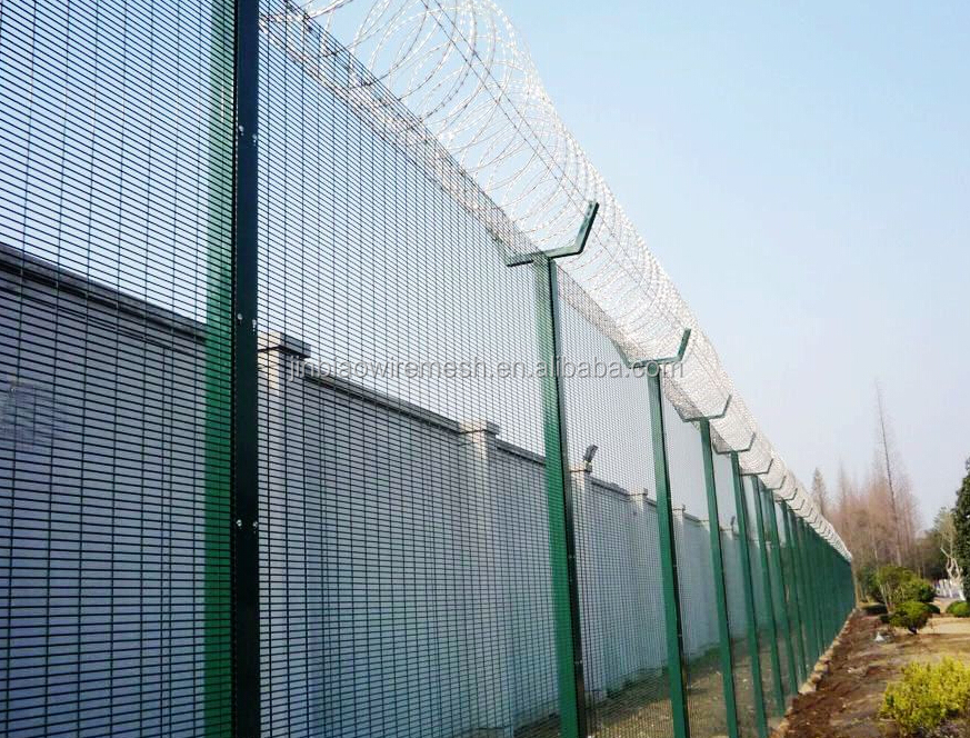 High Security Razor Wire Prison Fence / Razor Wire Prison Wire Fence ...