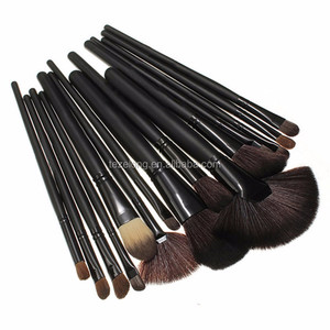 good quality synthetic 24 pcs makeup brush set cheap make up brushes set brushes manufactuer