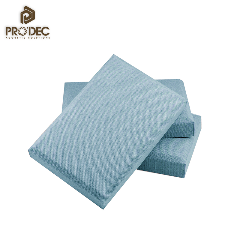 Active noise cancelling sound absorbing material fiberglass acoustic panel fabric acoustic