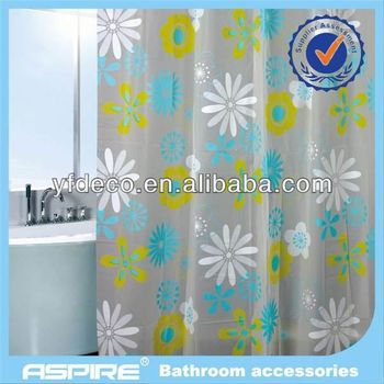Peva Material Shower Curtain Fabric