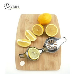 Amazon best sellers in 2018 wholesale 18/0 stainless steel polish metal lemon lime squeezer