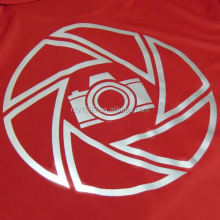 PU reflective garment heat transfer vinyl sticker for clothing
