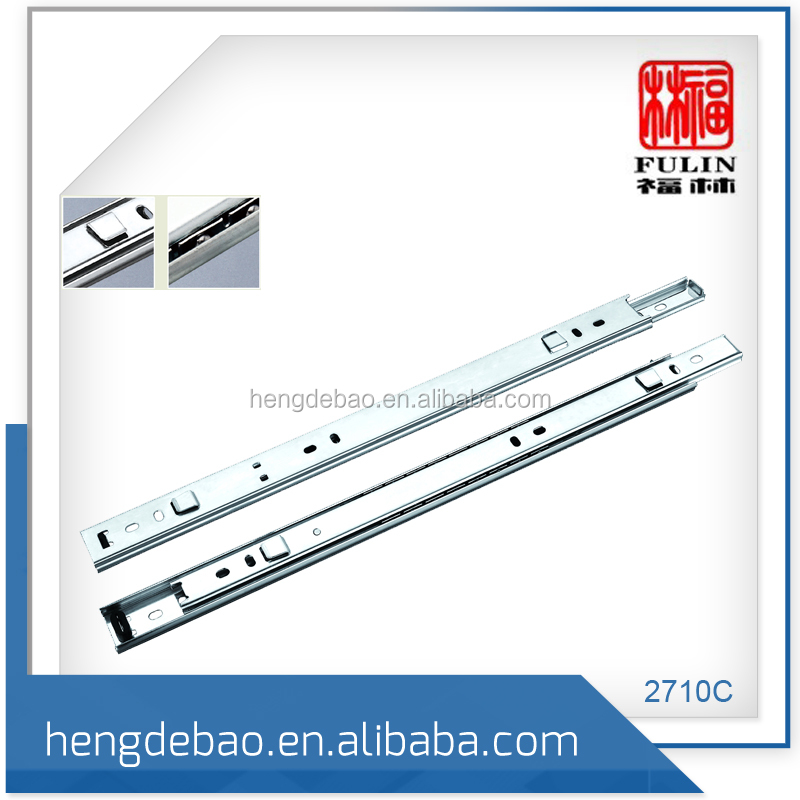 Furniture Door Hanging Drawer Slide Rail from Jieyang Supplier
