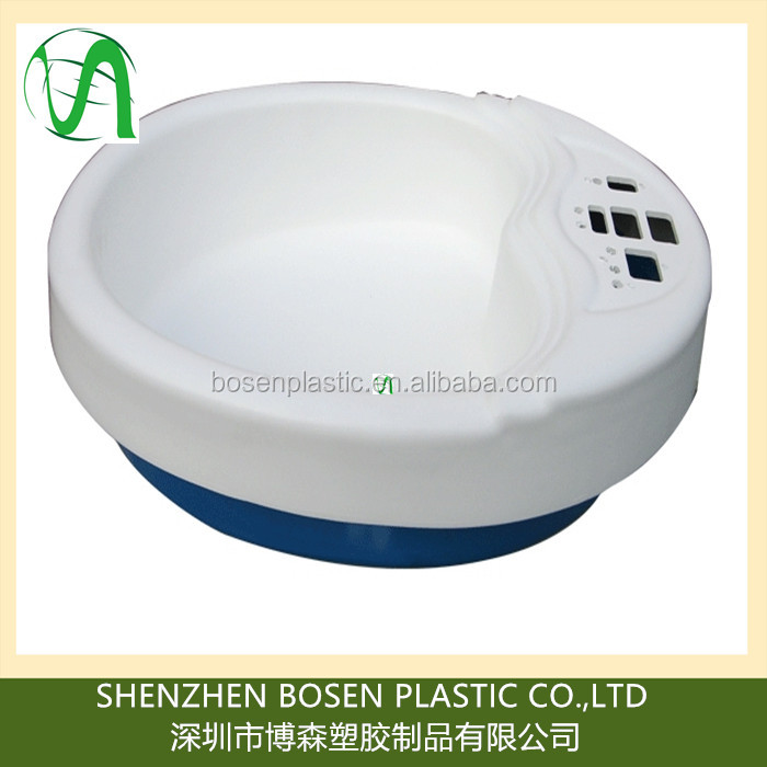 Shenzhen vacuum formed plastic abs/PMMA wash basin