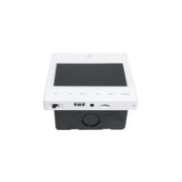 New arrival BA-415 wall mount stereo mini amplifier 4*15 w USB/SD and 3.5mm jack Smart Home Audio