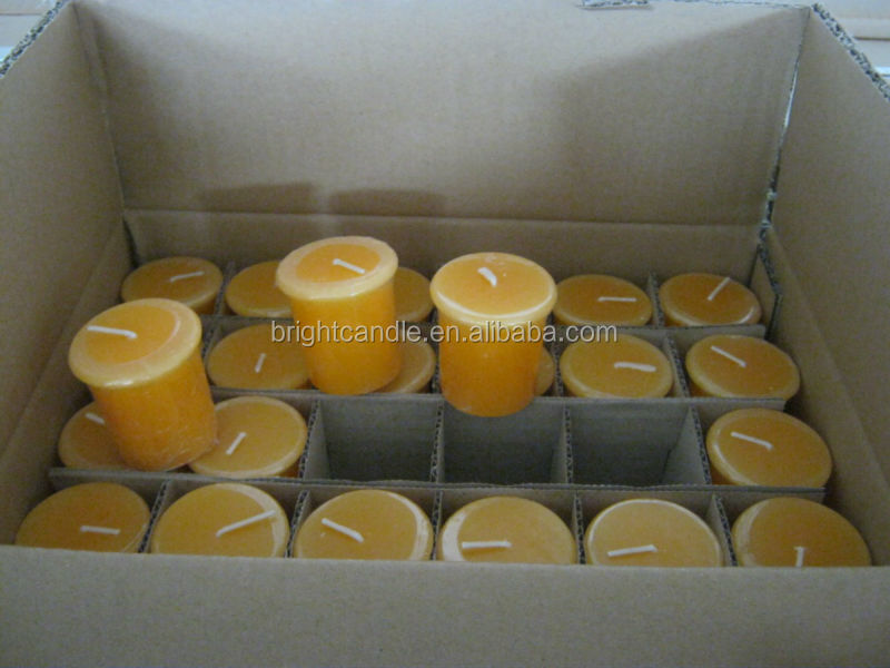 tiger headband ears votive candle
