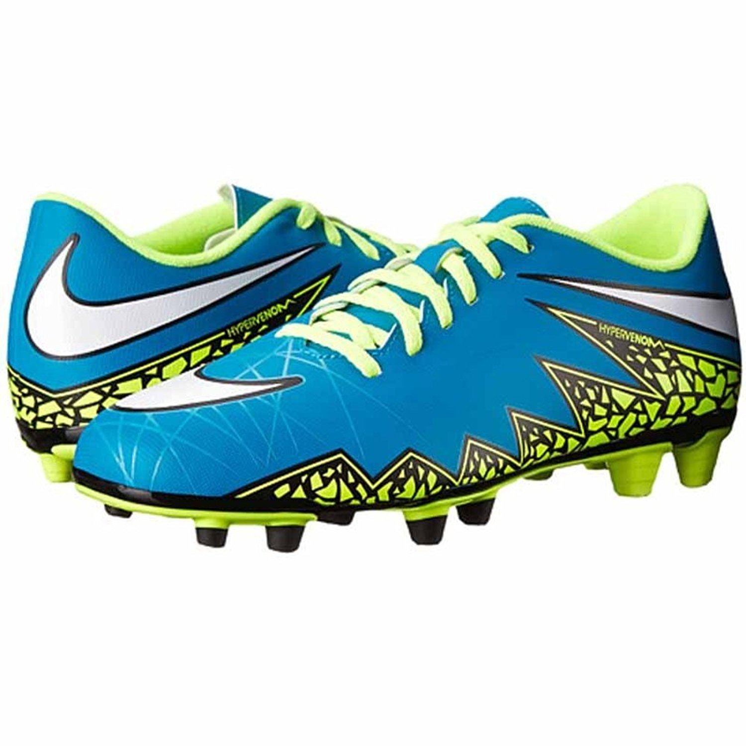 66759808be5a9 Buy Nike Kids Hypervenom Phade II FG Soccer Cleats - (Blue/White ...