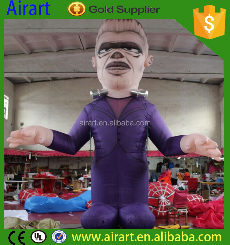 Modern Design Theme park Halloween costumes walking inflatable costume