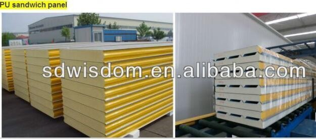 Used Freezer Insulated Panels : Freezer refrigeration storage used pu sandwich panel