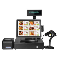 15 inch all in one touch screen POS system/POS terminal/Epos