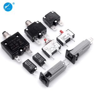 5A 10A 15A 20A 25A 30A 35A 40A 50A DC 12V 24V 28V Automatic Manual Reset Electrical Overload Protector Thermal Circuit Breaker