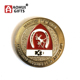 Hot selling Personalized Metal Rcmp Security Soccer challenge coin