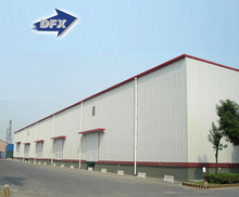 Indian Design Cheap Industrial Prefabricated Light Steel Structure Warehouse