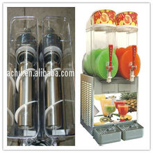 Commercial slush ice making machine/ snow melt making machine with two tanks
