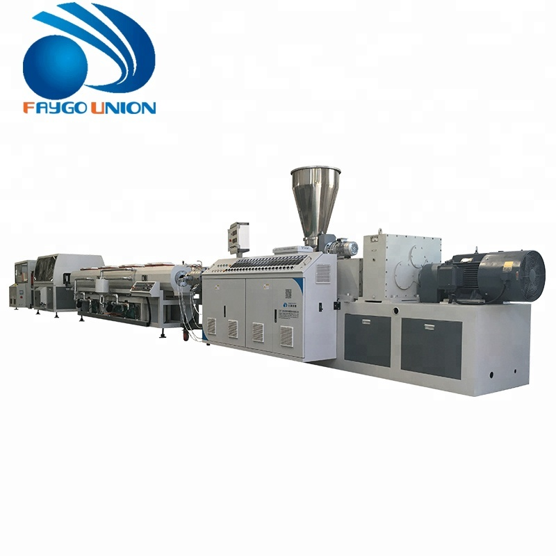 Plastic WPC / PP/<strong>PE</strong>/ PVC door window profile extrusion making machine line