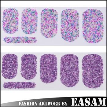 Easam Amazing Caviarmini Beads Nail Art Stickernail Art Patchnail