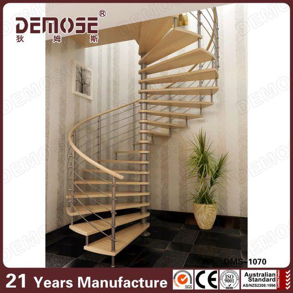 escaleras de de caracol de caracol de metal