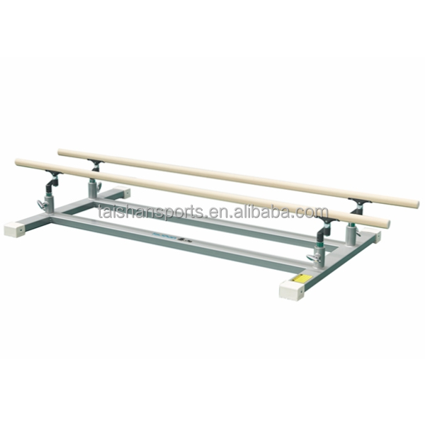 Low parallel bar for training, indoor paralle bar, gymnastics equipment