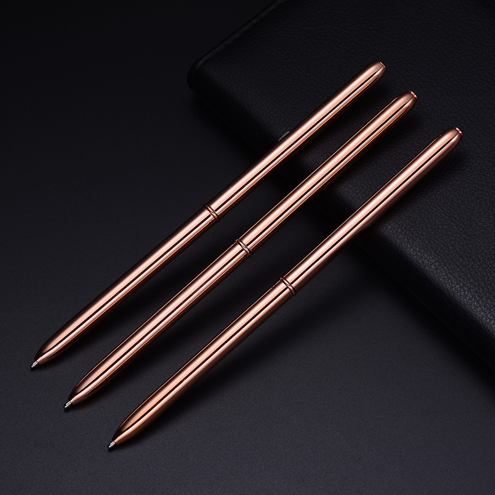 Corporate gifts 2018 custom logo pens desk stand metal ballpoint pen