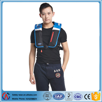 Air Inflatable Life Jacket Auto Life Vest With Solas Approved ...