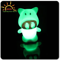 Plastic Flash Kids Toy,LED Promotional Light Toy,PVC Night Light Decoration lights